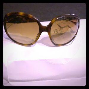 Oliver Peoples Mariette tortoise/brown sunglasses